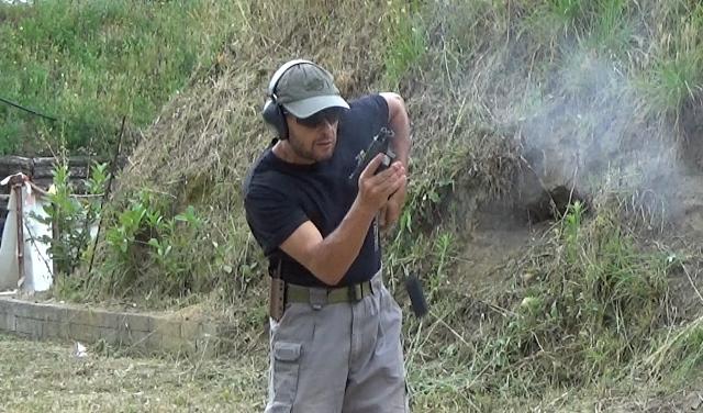 Cambio cargador con pistola, procedimiento operativo