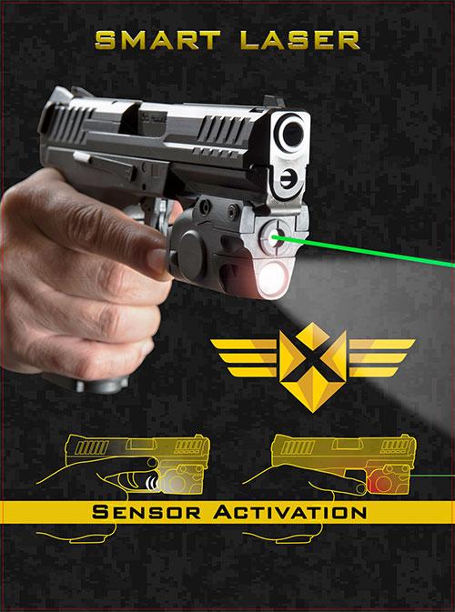 XTech Tactical y Gun Dynamics lanzan un láser inteligente