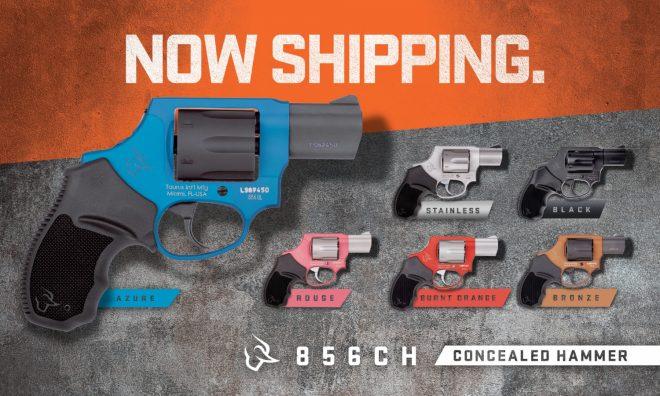 Taurus presenta los nuevos modelos de revolver snubnose 856