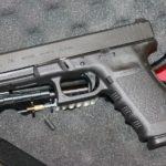 Pistola Glock 21C, prueba real