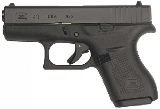 El departamento de  policía de Springdale en Arkansas comprará Glock 43 como pistolas de respaldo