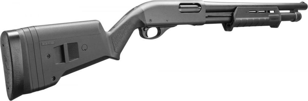 Linterna para escopeta TL-Racker integrada de Streamlight. Remington 870 en cal. 12. Redacción Espacio Armas.