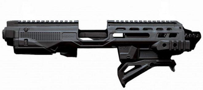 Polymer 80 presenta el armazon «Kidon Pistol» de IMI y funciona con 100 pistolas
