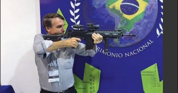 2019. Porte de armas en Brasil según la política del nuevo Presidente Bolsonaro
