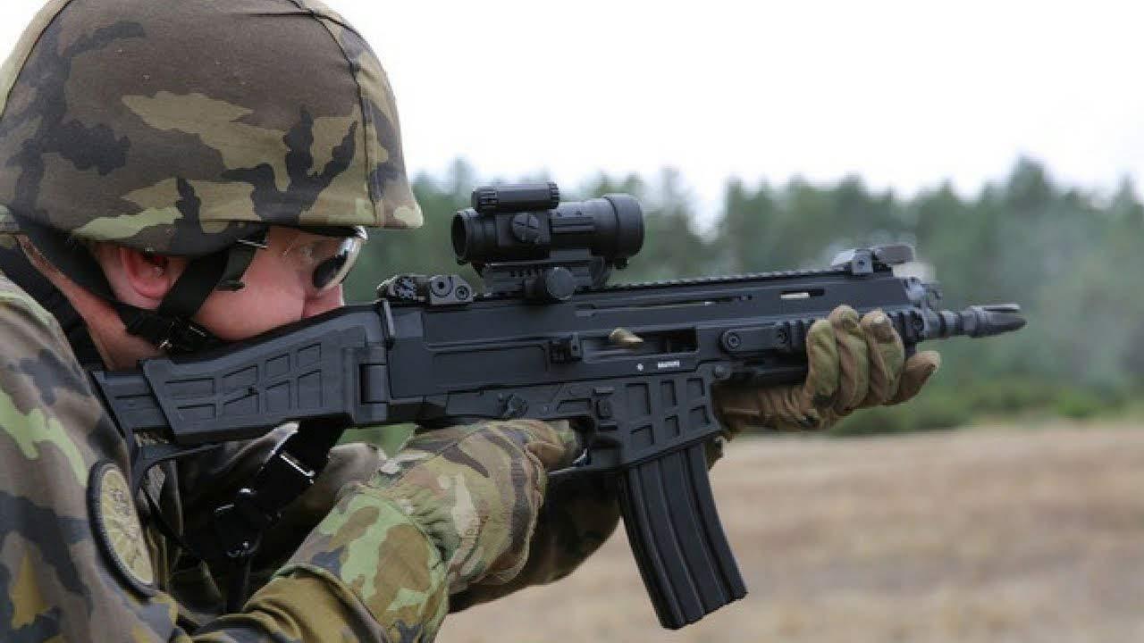 Rifle de guerra checo modelo Bren 2 Br.