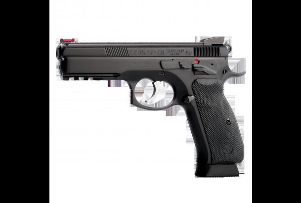 Pistola CZ75 SP-01 Shadow. Prueba real