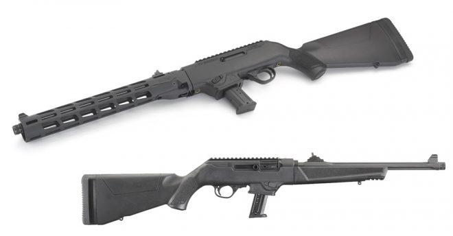 Ruger introduce NUEVOS modelos de carabina en calibre de pistola
