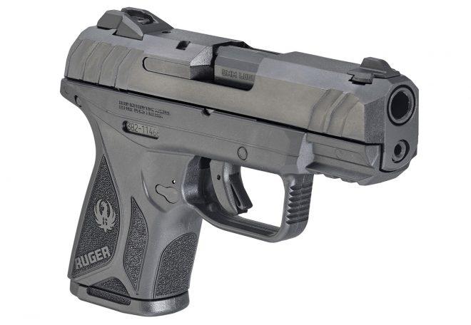 pistola Ruger Security 9, lado derecho. Redacción Espacio Armas.