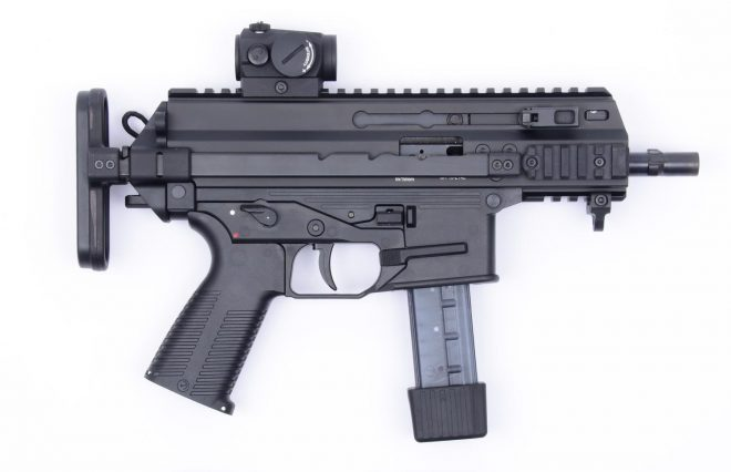 Arma subcompacta modelo APC9-K B&T para ejército Estados Unidos