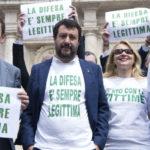 Italia Legítima defensa: la ley Salvini ya es realidad