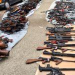 Los Ángeles policía incauta más de 1,000 armas de fuego