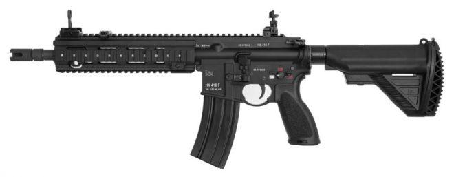 Fusil Heckler & koch 416, policía  alemana  de Hesse adquiere el rifle HK416