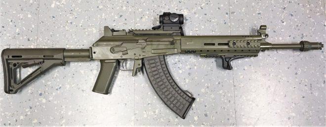 Finlandia fusil RK62M recién actualizado