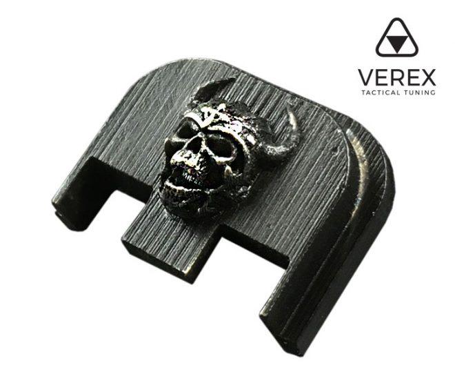 Placas posteriores 3D Glock, Verex Tactical