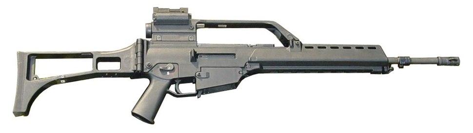 La Guardia Civil de España ordena los nuevos rifles  HK G36K y  los subrifles MP5