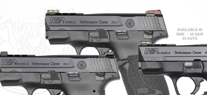 Pistolas Smith & Wesson: 3 millones de M&P Shield