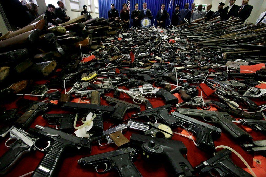 Alquiler de armas ilegales para criminales en Ciudad de México