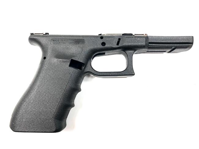 Armazon de Glock Gen 3 RTF. Fuente Glock.com. Redaccion Espacio Armas
