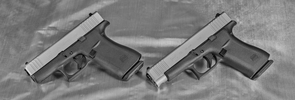 Glock G43X y Glock G48. Fuente Gunsweek.com. Redaccion Espacio Armas.