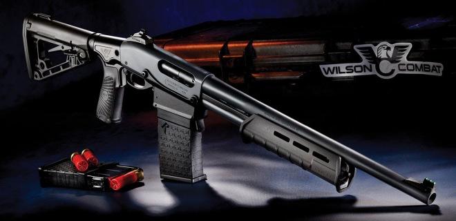 Cargador prismatico Wilson Combat para escopeta