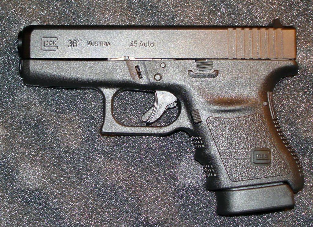 Glock 36 en cal. 45 auto Gen 2. Redaccion Espacio Armas