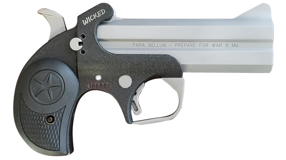 La pistola Derringer «Wicked 9 mm» de Bond Arms