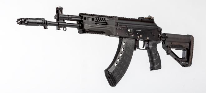 Fusil АК TR3, versión civil de los fusiles AK-12 y AK-15