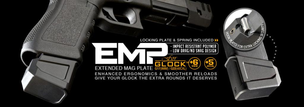 Extensión cargador para Glock de Strike Industries, EMP