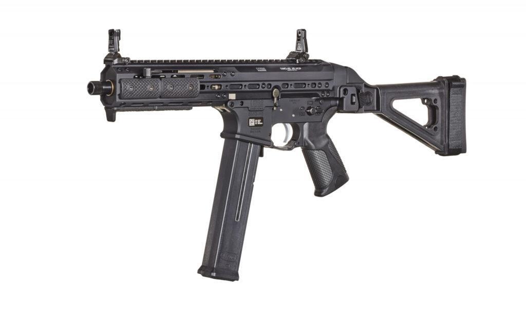 Reseña Carabina. Carabina calibre 45 acp de LWRCI SMG.