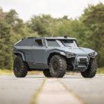 Camioneta táctica Scarabée Arquus, vehículo blindado