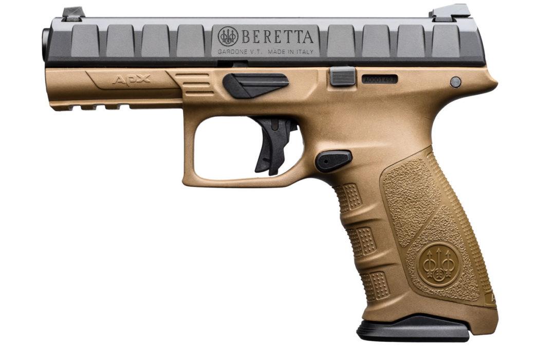 Beretta APX la Striker de Casa Gardone. Prueba de confianza.