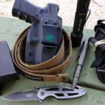 Equipamiento básico armas defensa personal, EDC: Every Day Carry