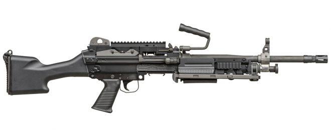 Ametralladora ligera calibre 7.62 FN Minimi Mk3 in cal. 7.62 (FN Herstal). Redaccion Espacio Armas.
