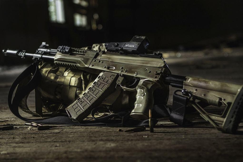 Fusil AK-12 distribuido a las Fuerzas Armadas rusas