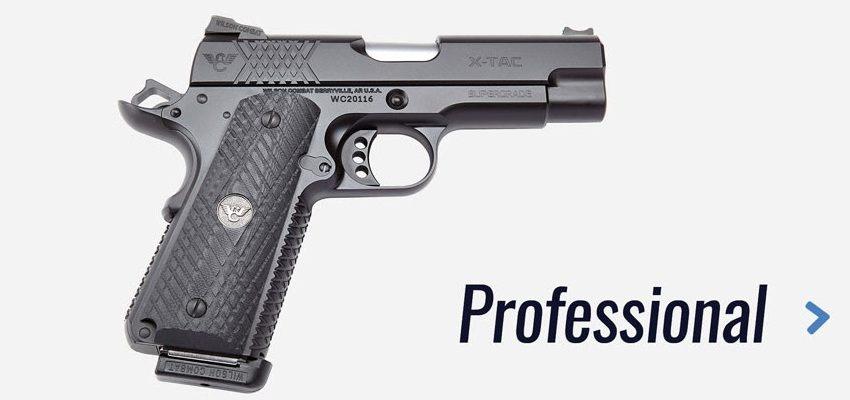 Pistolas Wilson Combat X-TAC. Professional