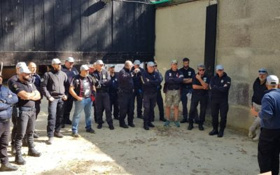 Italia. Curso  «F.I.R.S.T.». Firearms Safety and Training