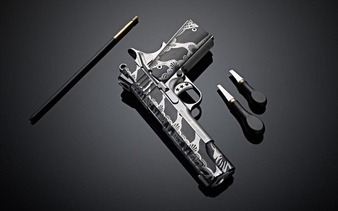 Pistola 1911 Diablo Damascus