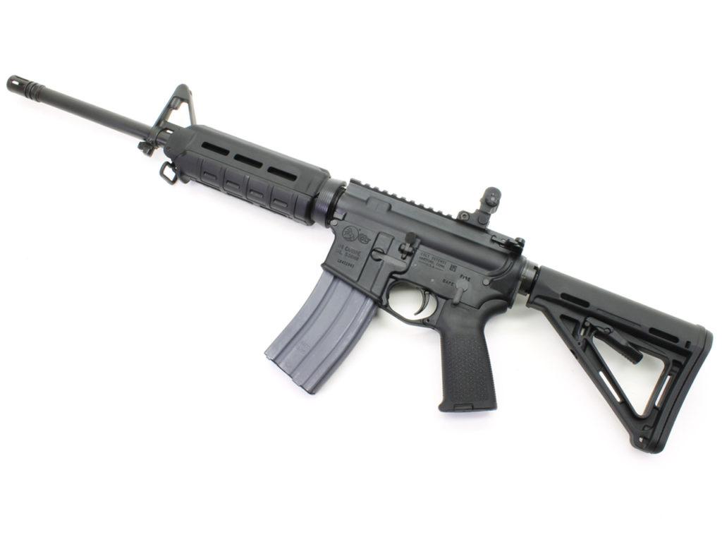 Plataforma AR-15 COLT:  suspensión producción para civiles