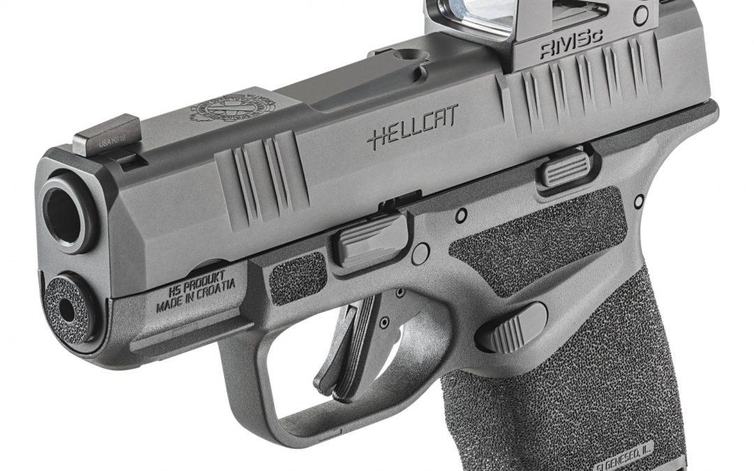 Springfield Armory Hellcat: la pistola micro-compacta en cal. 9 mm de mayor capacidad del mundo