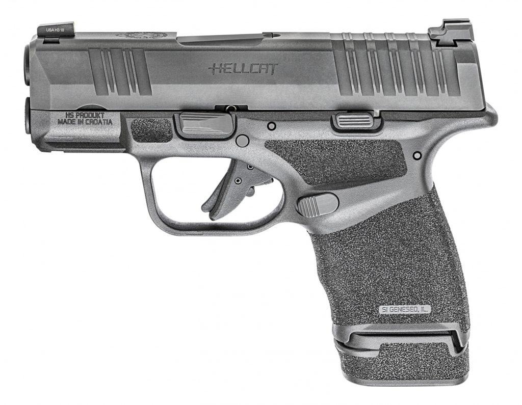 Lado izquierdo, pistola Hellcat. Fuente. Springfield.com Redacción Espacio Armas.