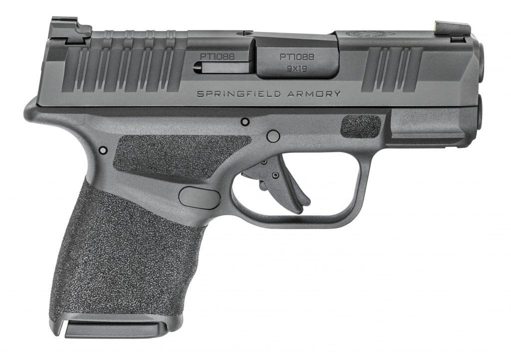 Lado derecho, pistola Hellcat. Fuente. Springfield.com Redacción Espacio Armas.