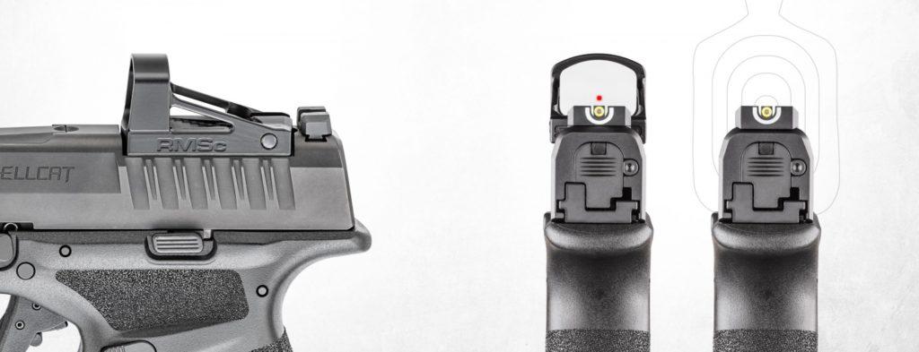 Pistola  especificaciones para la Hellcat