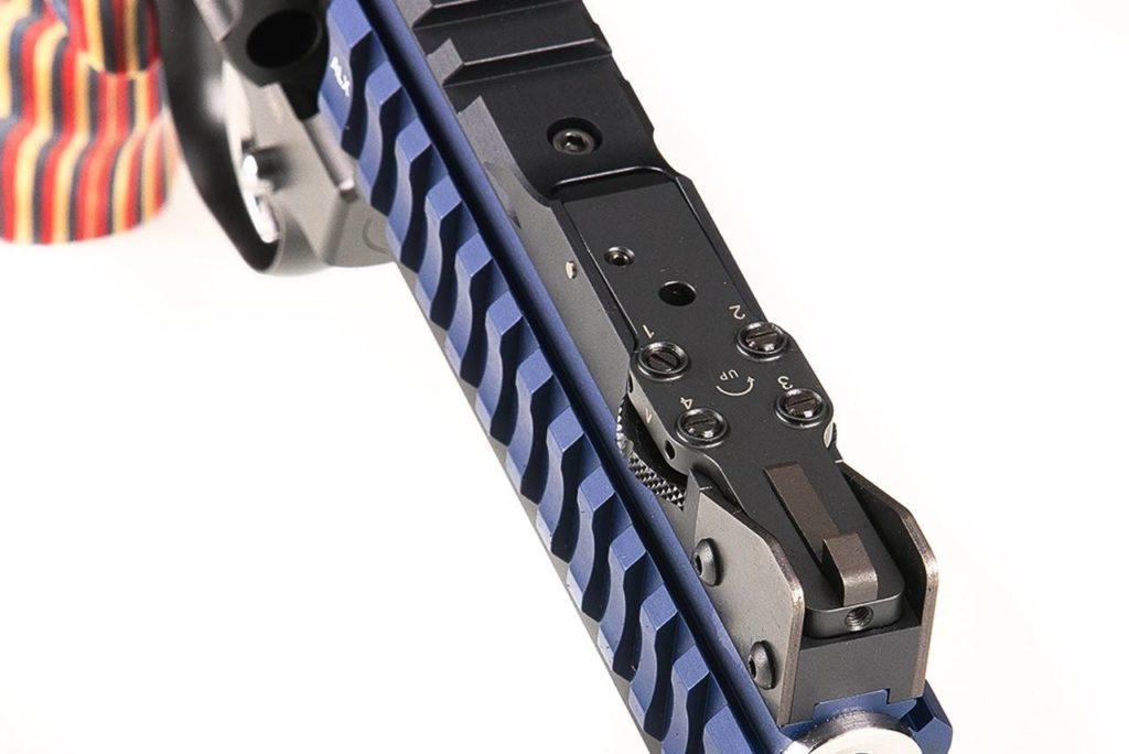 Revolver Super Sport Blue Alx. Fuente. nighthawkcustom.com/revolvers. Redacción Espacio Armas.