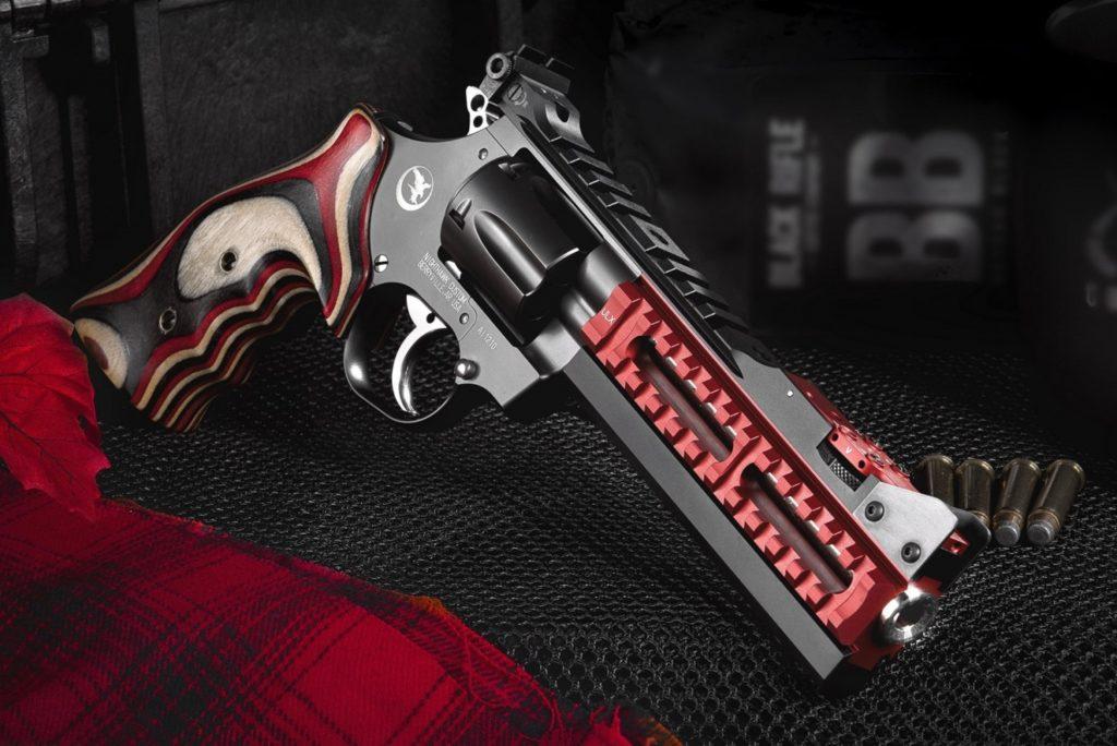 Revolver Super Sport Red Ulx. Fuente. nighthawkcustom.com/revolvers. Redacción Espacio Armas.