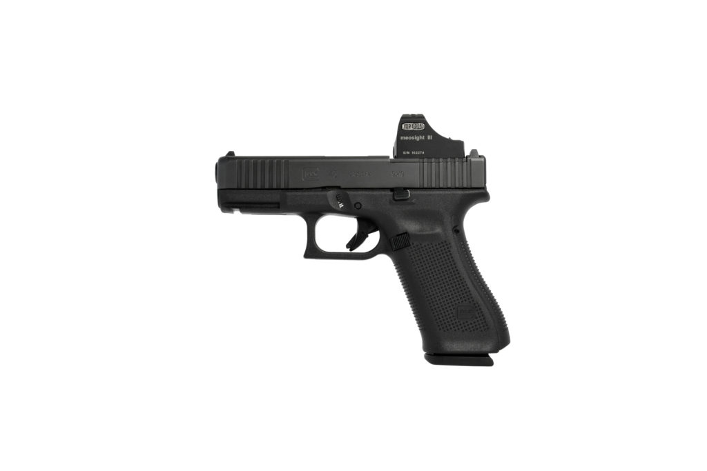La pistola Glock 45 MOS mantiene todas las características principales de la  G45