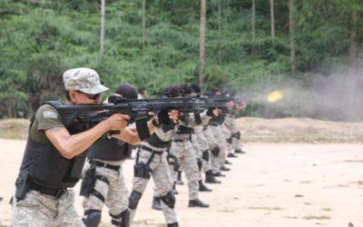 HK416A5 y SFP9 para los equipos  especiales STAR  de Malasia