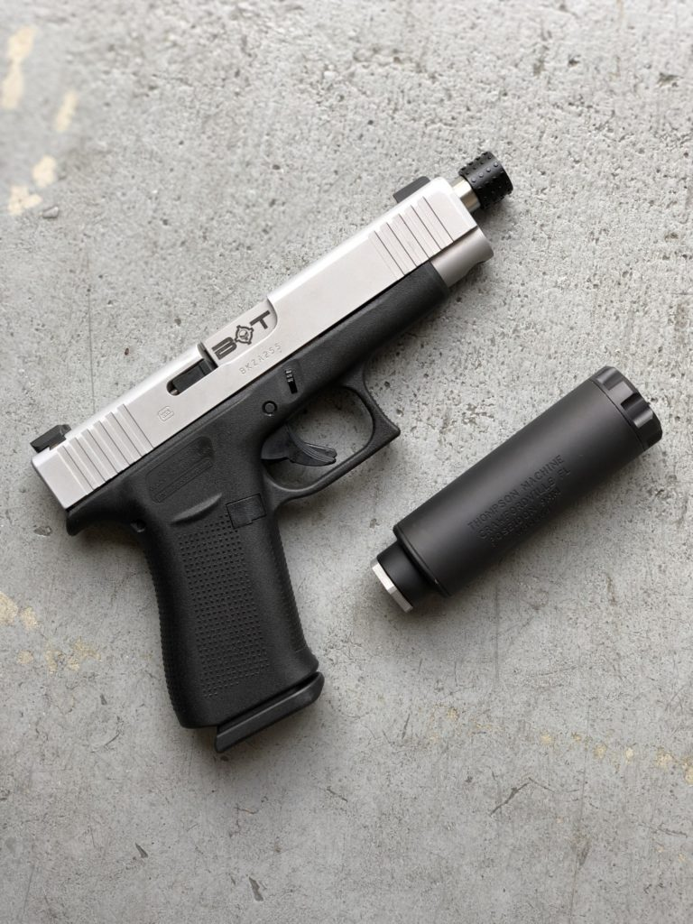 Nuevo cañón roscado pistola Glock 48