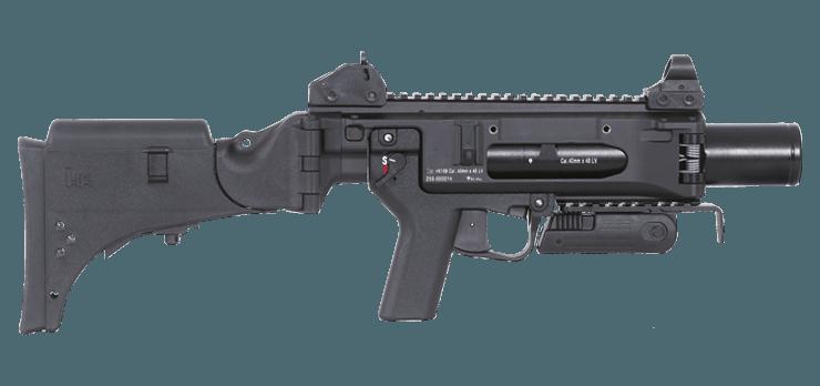 HK369 – Nuevo lanzador de granadas múltiples de Heckler & Koch