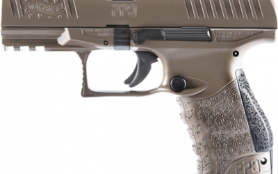 Walther presenta la pistola  PPQ M2 en Coyote Tan