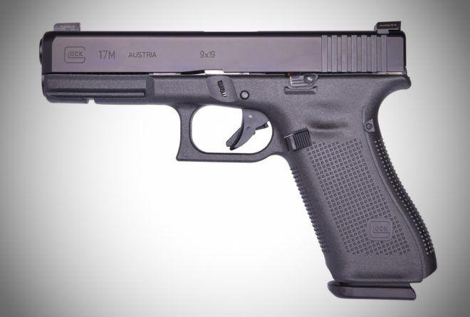 pistola FBI GLOCK 17M